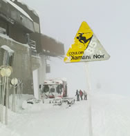 Flaine Danger Sign